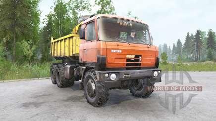 Tatra T81ƽ para MudRunner