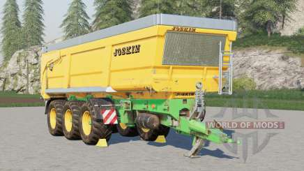 Joskin Trans-Space 8000-27TRC150〡puede contener 2000000 litros para Farming Simulator 2017