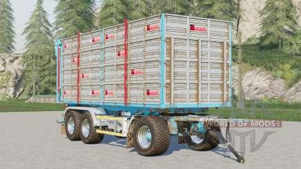 Adurante trailer〡selectable wheels brand para Farming Simulator 2017