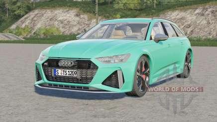 Audi RS 6 Avant (C8) 2019 elección de diseño para Farming Simulator 2017