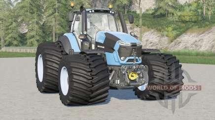 Deutz-Fahr Serie 9 TTV Agrotron〡wide tire para Farming Simulator 2017