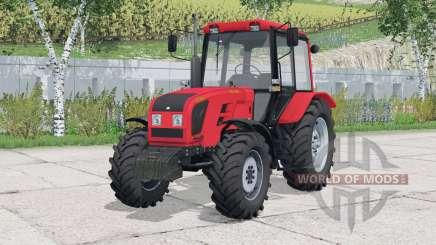 MTK-1025.4 Bielorrusia〡animimated tablero para Farming Simulator 2015
