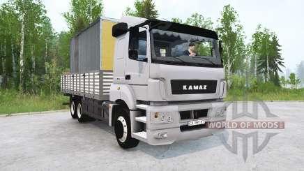 KAMAZ-65207 v4.0 para MudRunner