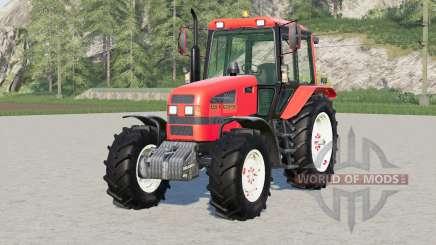 MTZ-1221.4 Bielorrusia 41reds para Farming Simulator 2017