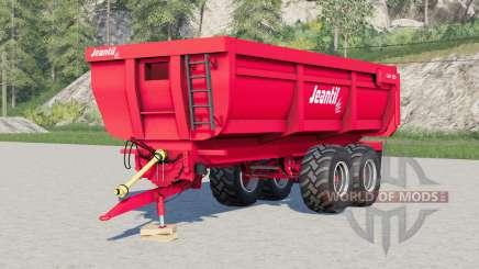 Jeantil GM 180 configuraciones de rueda para Farming Simulator 2017