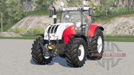 Steyr 6000 CVT〡engine selección para Farming Simulator 2017