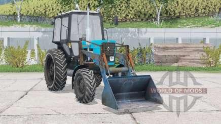 MTZ-82.1 Bielorrusia con cargador frontal para Farming Simulator 2015