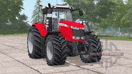 Massey Ferguson 7700 series〡frontloader soporte para Farming Simulator 2017