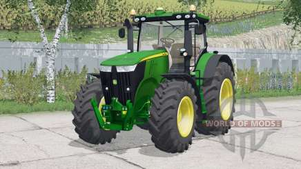 John Deere 7310R〡 espejos justificables para Farming Simulator 2015