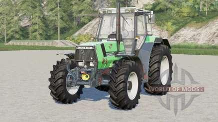Deutz-Fahr AgroStar 6.61〡rusty tractor para Farming Simulator 2017