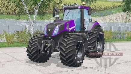 New Holland T8.420 mangueras de presión de neumáticos inmuebles para Farming Simulator 2015