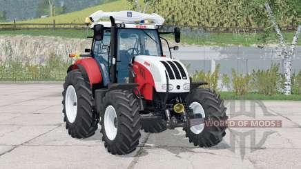 Steyr 6180 CVT〡regulagem do volante para Farming Simulator 2015