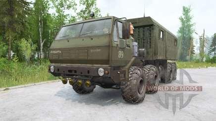 KrAZ-7E6316 Siberia para MudRunner