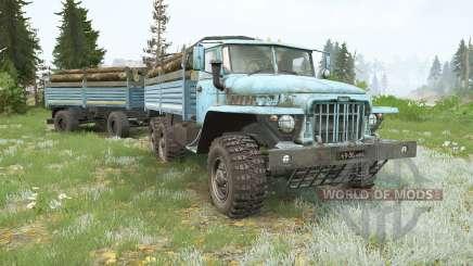 Ural-375D para MudRunner
