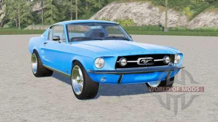 Ford Mustang GT-A Fastback 1967 para Farming Simulator 2017
