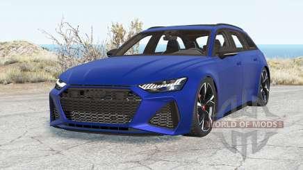 Audi RS 6 Avant (C8) 2019 v2.0 para BeamNG Drive