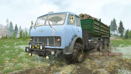 MAZ-509Α para MudRunner