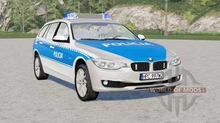 BMW 318d Touring (F31) 2015〡Policja para Farming Simulator 2017