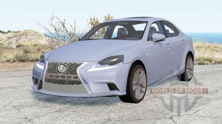 Lexus IS 350 F Sport (XE30) 2013 para BeamNG Drive