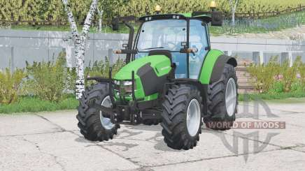 Deutz-Fahr 5130 TTV〡alumbras funcionales para Farming Simulator 2015