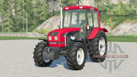 MTZ-1025.3 Bielorrusia〡boreborition de carga en las ruedas traseras para Farming Simulator 2017