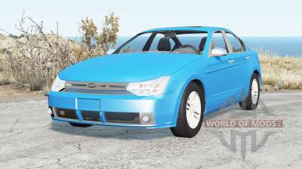 Ford Focus sedan (NA2) 2008 v2.16 para BeamNG Drive