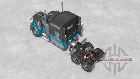 Kenworth W900 6x6 v1.1 para Spin Tires