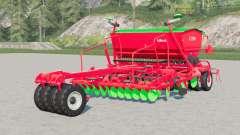 Unia Idea XL 3-2200〡 taladro de la seda para Farming Simulator 2017