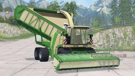 Krone BiG X 650 Cargo〡3 cabeceras para Farming Simulator 2015