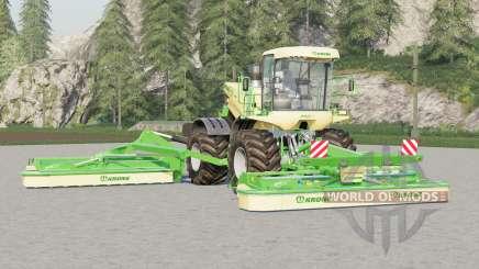Krone BiG M 500〡todos los trabajos de animación para Farming Simulator 2017