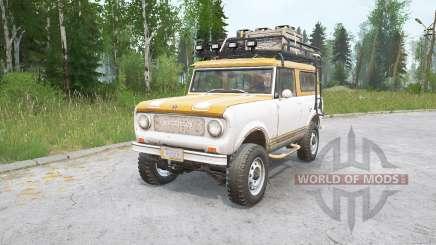 International Harvester Scout 800 v1.0 para MudRunner