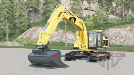 Caterpillar 320E L para Farming Simulator 2017
