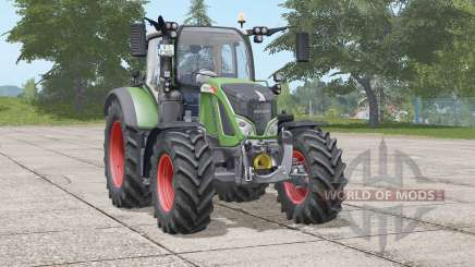 Fendt 500 Vario〡movibles eje delantero para Farming Simulator 2017