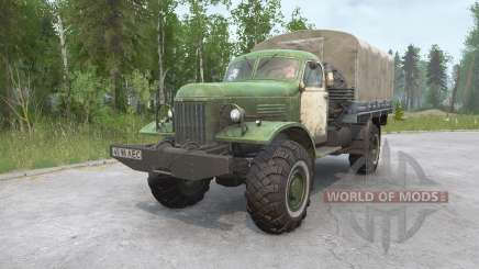 ZIL-157 4x4 para MudRunner