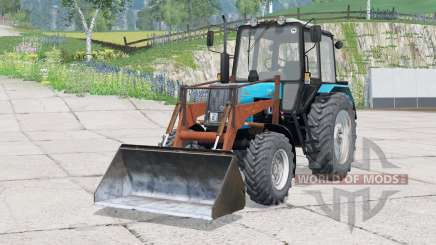 MTZ-1025 Bielorrusia〡PKU-0,8 para Farming Simulator 2015