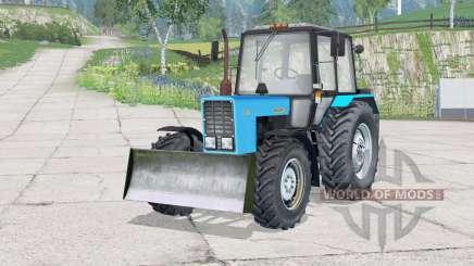 MTZ-82.1 Bielorrusia〡con cuchilla para Farming Simulator 2015