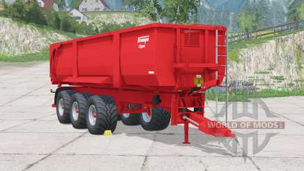 Krampe Big Body 900 para Farming Simulator 2015