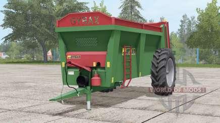 Gyrax EBMX 155〡ilumbración de trabajo para Farming Simulator 2017