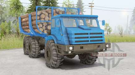MoAZ-74111 para Spin Tires