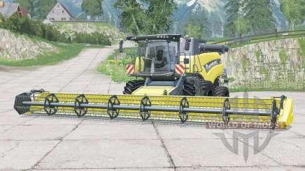 New Holland CR9.90〡con varias mejoras para Farming Simulator 2015