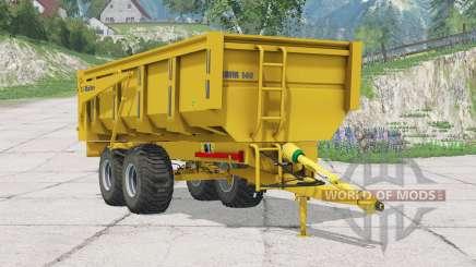 Maitre BMM 140〡abilidad para levantar manualmente para Farming Simulator 2015
