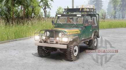 Jeep CJ-7 Renegade para Spin Tires