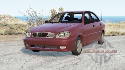 Daewoo Lanos Sedán (T100) 1997 para BeamNG Drive