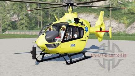 Eurocopter EC145 SAMU para Farming Simulator 2017