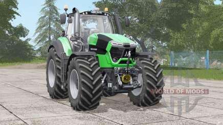 Deutz-Fahr Serie 9 TTV Agrotron〡interior animado para Farming Simulator 2017