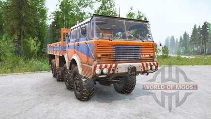 Tatra T813 8x8 v1.1 para MudRunner