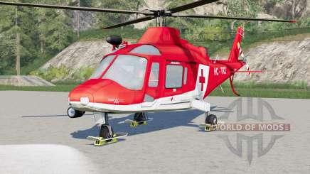 Agusta A.109 K2 Air Ambulance para Farming Simulator 2017