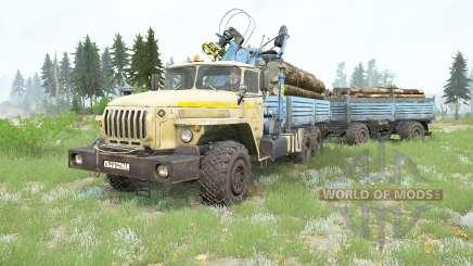 Ural-4320-40 v3.0 para MudRunner