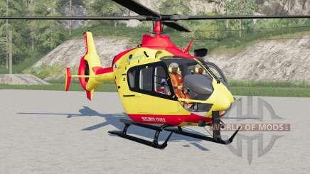 Eurocopter EC145 Securite Civile para Farming Simulator 2017