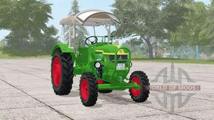 Deutz D 40S〡small, tractor robusto para Farming Simulator 2017